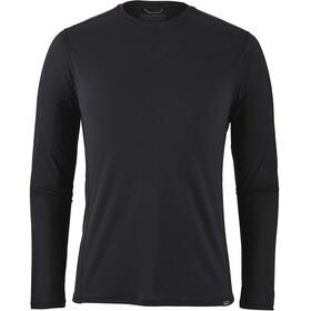 Patagonia Cap Cool Lightweight Langærmet T-shirt Herrer sort